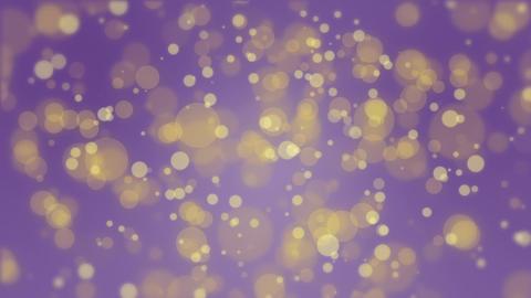Glowing purple yellow bokeh background 애니메이션