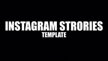 Instagram Stories theme Plantilla de After Effects