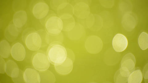 Abstract blur background of green bokeh glitter Footage