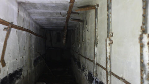 horror underground room with incredible Footage