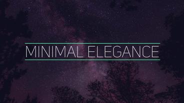 Fresh Minimal Titles Premiere Pro Template