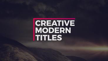 20 Titles Pack Premiere Proテンプレート