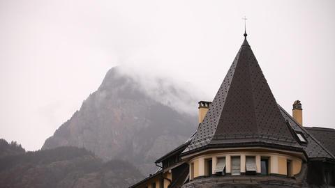 Buildings in Switzerland Footage