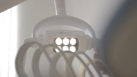 Lamp in the dental office Footage