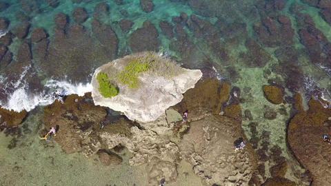 DJI MAVIC 4K Aerial Drone Video Taiwan Pingtung Liuqiu Islet Flower Vase Rock 영상물