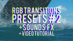 RGB Transitions Presets 2 PR模板