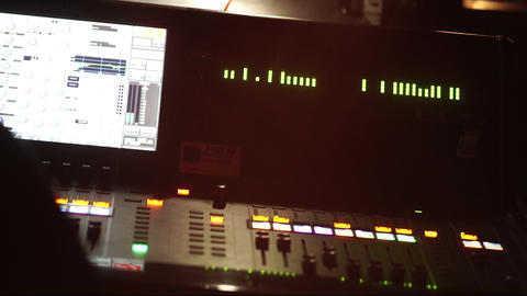 Audio mixing console Image
