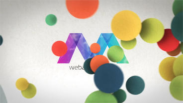 Creative Colorful Logo Reveals After Effects Template