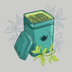 Square Tin Packagain Vector