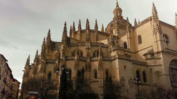 The Cathedral of Segovia, Spain Footage