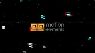 Glitch Logo Reveal Premiere Proテンプレート