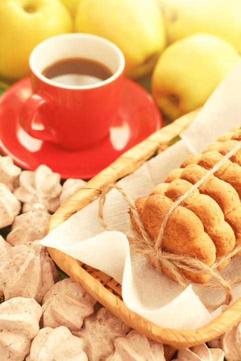 Coffee with cookies Photo