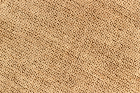 Sackcloth burlap textile background Photo