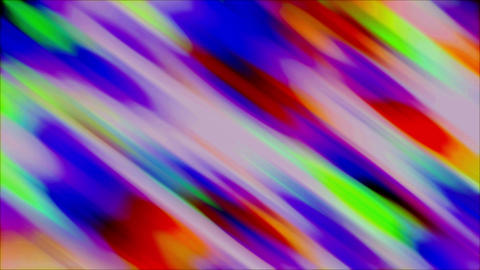 Bright Colored Fun Loop Spectrum Curtain Flowing Background Animation