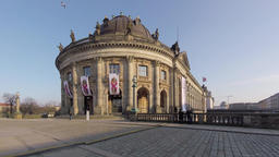 Time Lapse: Tourists At The Bode Museum In Berlin, Germany 영상물