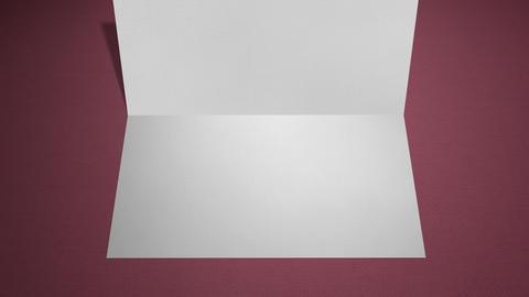Postcard zoom invitation tabel Animation
