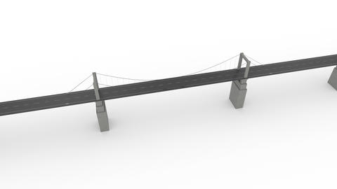 The bridge on white able to loop Archivo