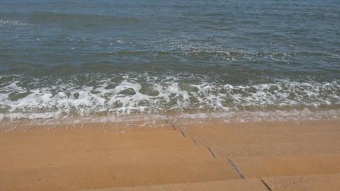 Beach at Blackpool Footage