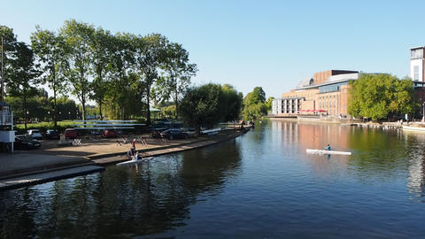 Royal Shakespeare Theatre in Stratford upon Avon Live Action