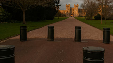 Windsor Castle, Berkshire, England UK 영상물