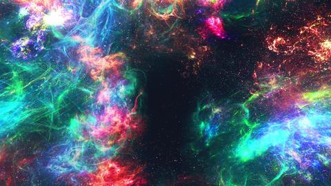 Born galaxy Animation