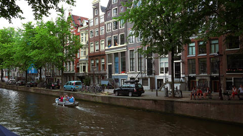 Romantic Leidsegracht in Amsterdam film location of The Fault in our stars City  Live Action