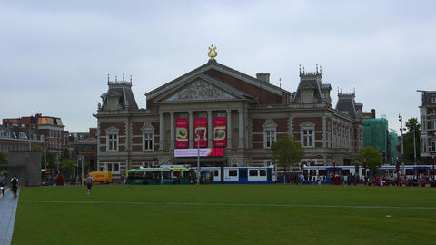 Concert Hall Amsterdam called Concert Gebouw City of Amsterdam Live Action