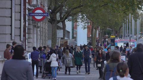 London street view - LONDON, ENGLAND Footage