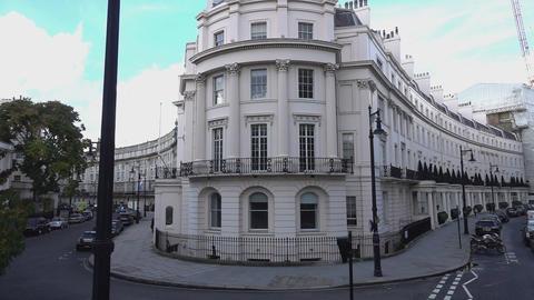 Wonderful mansions in London - LONDON, ENGLAND Footage