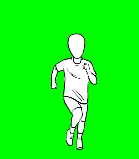 Sprinter Animation