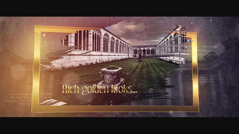 Journey to History After Effects Template