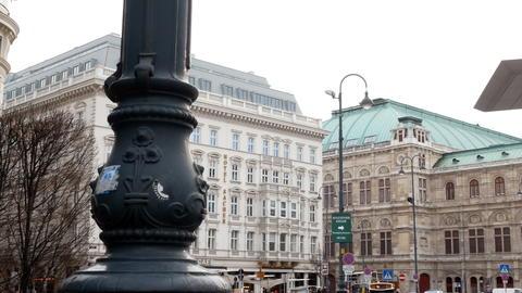 VIENNA, AUSTRIA 4K footage of the Albertina Gallery, Vienna, Austria. The Photo