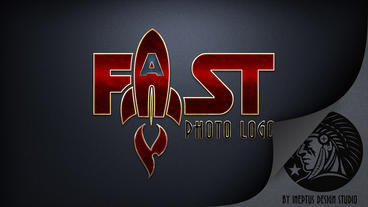 Fast Photo Logo Apple Motion Template