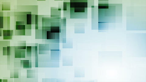Technology abstract video animation with squares Animation