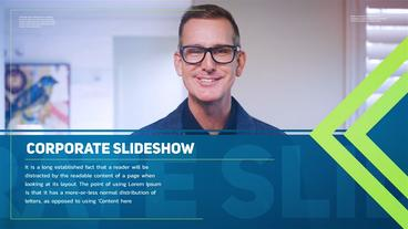 Corporate Slideshow Template After Effect
