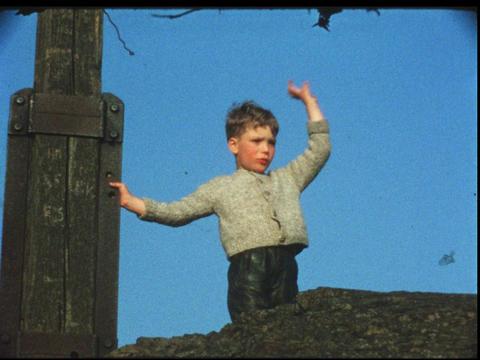 Boy waving goodbye 1 Live Action