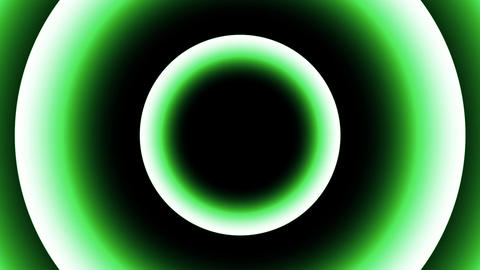 Light Green Concentric Circles Abstract Background 1 Animation