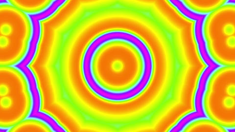 Fast Psychedelic Color Cycle Colorful Kaleidoscope 2 Animation