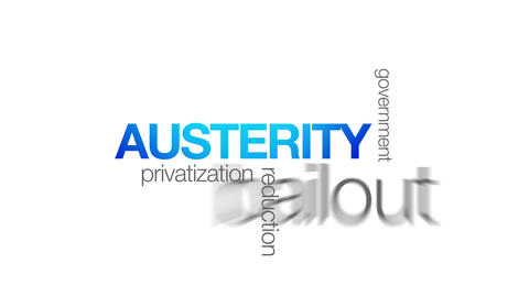 Austerity Stock Video Footage