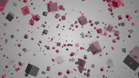 Rotating Cubes Stock Video Footage