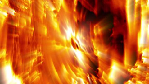 Majestic Fire Aurora Stock Video Footage