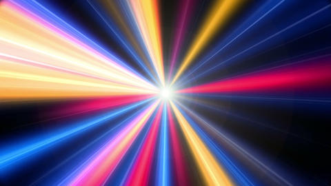 Colorful Light Rays Stock Video Footage