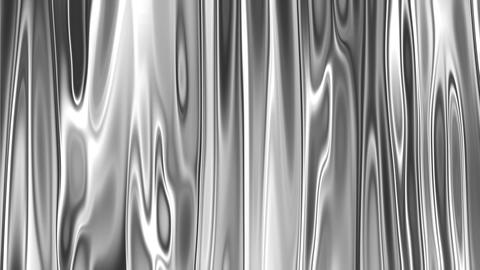 Flowing Silver Goo Animation