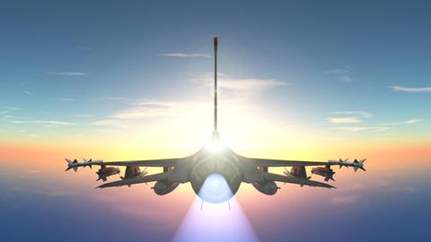 ジェット戦闘機 Animation