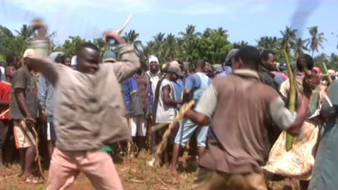 African men Stock Video Footage