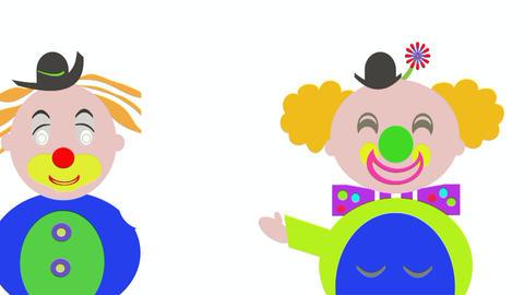 clowns Stock Video Footage