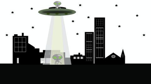 Aliens Stock Video Footage