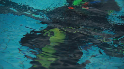 diving pool 17 Stock Video Footage