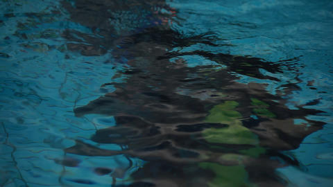 diving pool 21 Stock Video Footage