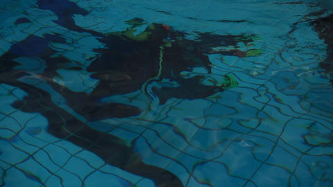 diving pool 25 Stock Video Footage